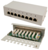 LogiLink Patch Panel Desktop CAT6  8-port geschirmt