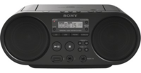 Sony ZS-PS50B Boombox CD/Radio Player, schwarz