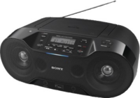 Sony ZS-RS70BTB Digitales CD/Radio Player mit Bluetooth und DAB/DAB+ , schwarz