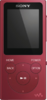 Sony NW-E394 Walkman 8 GB, rot