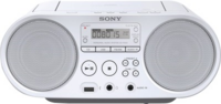 Sony ZS-PS50W Boombox CD/Radio Player, weiß