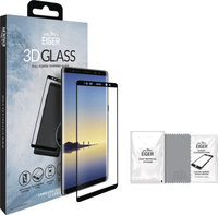 Eiger 3D E2E/Full Front Screen Protector Samsung Note 8 clear/black